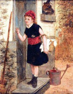 Albert Roosenboom (1845-1873) - Little Red Riding Hood
