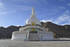 Leh is a bustling city and has gained an ascent on the World tourist Map.See the best places to visit In Leh and activities this region has to offer Ladakh India, Leh Ladakh, India India, Tourist Places, Places To Travel, Tourist Map, Travel Destinations, Tibet, The Great Stupa