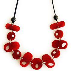 kala tagua necklace, fair trade holiday gifts (muichic)