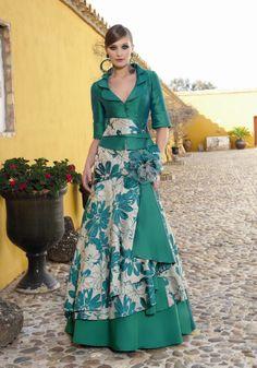 Vestidos de fiesta 2013 de Manu Garcia