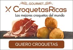 tienda croquetas madrid Canapes, Food And Drink, Gluten, Beef, Snacks, Meals, Madrid, Cooking, Tips