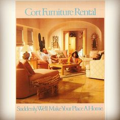 Suddenly we'll make your place a #home. #throwbackthursday #tbt #interiordesign #southweststyle  | Follow CORT on Instagram! (@ CORT Furniture)