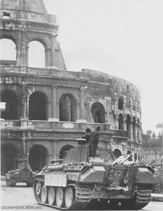 PzKpfw V Ausf. A   in Rome 1944
