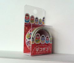 Kawaii Japan Deco Masking Tape:DecoPoco Series Russian Dolls