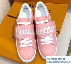 Louis Vuitton Frontrow Sneakers 1A3TA2 Pink 2017