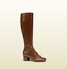 BRIDGETTE BARDOT: STEAL HER BOMBSHELL STYLE leather horsebit knee boot