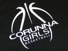 Charming Basketball Designs | Corunna Girls JV Basketball Shooting Shirts