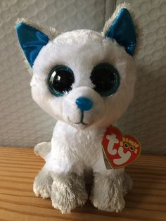 Current 438  Ty Beanie Boo Boos Frost The Arctic Fox 6 Mwmt 2017 Walgreen S  Exclusive -  BUY IT NOW ONLY   16.88 on  eBay  current  beanie  frost   arctic ... 72402dd35419