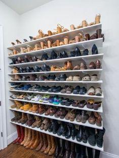 Zelfgemaakte schoenenrek: schoenen opbergen like a pro!