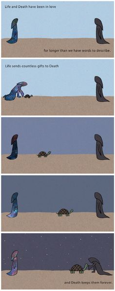Life and Death Comic http://geekxgirls.com/article.php?ID=6335