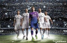 I finally made my mind about this team. I love it. Love it a lot! Love Cassilas and Ronaldo.