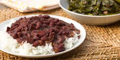 Red beans and rice is a staple dish in Lousiana cuisine. Typically served on Monday's, this dish wou...