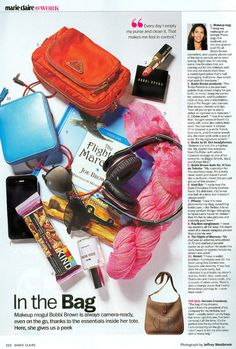 Marie Claire- BB- In the Bag bobbi brown