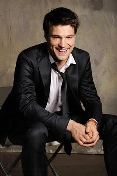 """Favorite thing to """"fangirl"""" about: The fact that this handsome man (Danila Kozlovsky) will be helping to bring one of my favorite books series to life! Vampire Academy, Dimitri Belikov, I'll be seeing you in 2014! Can't wait!"""