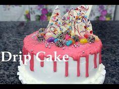 Decoração bolo de festa Drip cake