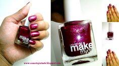¿Nos conocemos? Esmaltes Make my day #swatches #nails #uñas #comotepintaste #esmaltes #polish #red #makemyday #rojo #faustina