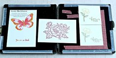 Turn the SU! Stampin' Scrub tool into a stamp positioner