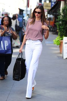 10 Stylish Stars Who'll Inspire You To Ditch Your Skinny Jeans For Flares | Teen Vogue