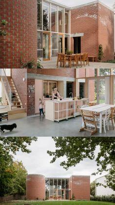 Home Design Plans, Plan Design, Interior Exterior, Home Interior Design, Cake Pop Decorating, Arch Building, Commercial Design, Building Materials, Modern House Design