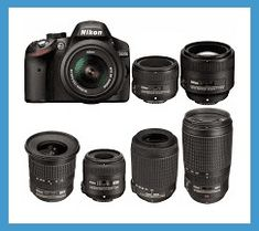 Discover 13 Nikon D3200 compatible lenses DX AF-S made by Nikon, Tamron, Sigma and Tokina...Read More...