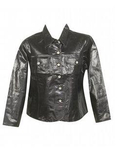 Coated Denim Jacket