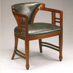 Art Nouveau/Jugendstil Dining Chair Liberty. Available at artdecowebstore.com. - Art Nouveau/Jugendstil Eetkamerstoel/Stoel Liberty. Verkrijgbaar bij artdecowebwinkel.com.