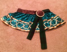 """Merida / Brave Inspired Running Skirt by AuntieVickysCloset Now thru Jan23rd use discount code """"GlassSlipper"""" and receive free shipping on you Princess Purchase"""
