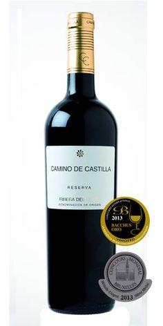 Camino de Castilla Reserva 75 Cl. - A PRIZE WINNING red wine from the RIBERA DE DUERO region of Spain. ONLY €8.49 tax included! www.vinoole.com