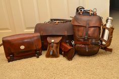 LeatherWerk: Vintage Swiss Army Leather Collection