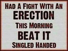 Am Erection Fight