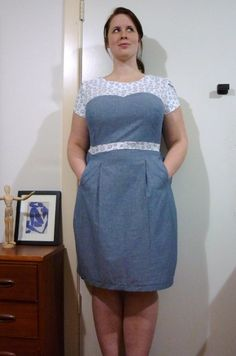 Colette Macaron Muslin: The Labour Day Dress