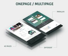 Nivan – One Page/Multi Page WordPress Theme