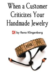 Cleaning Jewelry When a Customer Criticizes Your Handmade Jewelry, by Rena Klingenberg, Jewelry Making Journal - Free jewelry tutorials, plus a friendly community sharing creative ideas for making and selling jewelry. Personalized Jewelry, Custom Jewelry, Handmade Jewelry, Diy Jewelry, Jewelry Ideas, Handmade Silver, Yoga Jewelry, Luxury Jewelry, Bridal Jewelry