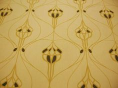 Art Noveau design fabric by MacKintosh perfect for the living room