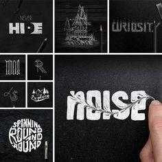 ART DIRECTOR CREATED ARTISTIC TYPOGRAPHIC ARTWORK ILLUSTRATIONS