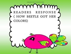 How Beetle Got Her Colors - McGraw Hill Wonders 2nd Grade