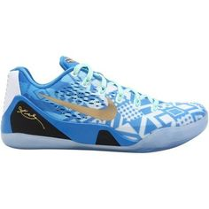 buy online c3e9d 12adf Nike Kobe IX EM Basketball Shoe - Hyper Cobalt Photo Blue Action Red White