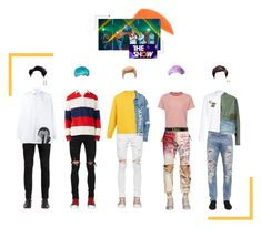 """""""[COMEBACK STAGE] King5 - New Colors"""" by official-king5 ❤ liked on Polyvore featuring By Terry, Dolce&Gabbana, Visvim, Faith Connexion, AMIRI, Balmain, Gucci, Greg Lauren, Raf Simons and Raey"""