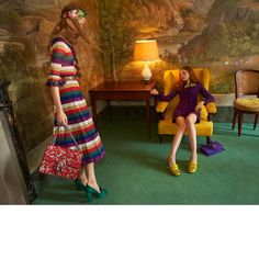 Chic and brazen, Gucci never skips a beat! The brand's Cruise 2016 Ad Campaign is spreading like wildfire, and we're here to show you some of the latest snaps on this collection. Romanticism at bes… Fall Fashion Outfits, Fashion Shoot, Editorial Fashion, Celine, Madison Stubbington, Editorial Photography, Fashion Photography, Gucci Campaign, Art Partner