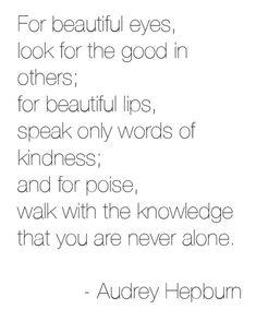 Audrey Hepburn  #quotes #life