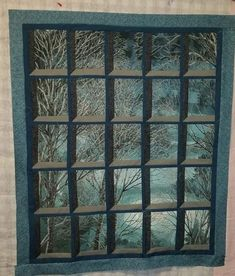 Artworks V panel with attic window pattern Attic Window Quilts, Quilting Designs, Quilt Patterns, Artworks, Windows, Sewing, Home Decor, Dressmaking, Decoration Home