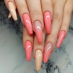 Hey there lovers of nail art! In this post we are going to share with you some Magnificent Nail Art Designs that are going to catch your eye and that you will want to copy for sure. Nail art is gaining more… Read more › Sexy Nails, Hot Nails, Fancy Nails, Stiletto Nails, Hair And Nails, Coffin Nails, Long Nail Designs, Colorful Nail Designs, Nail Art Designs