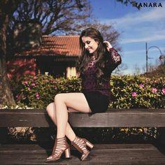 Estudos Tanara comprovam: sapatos têm a capacidade de melhorar seu dia em 98%. Sandália ref. N7581