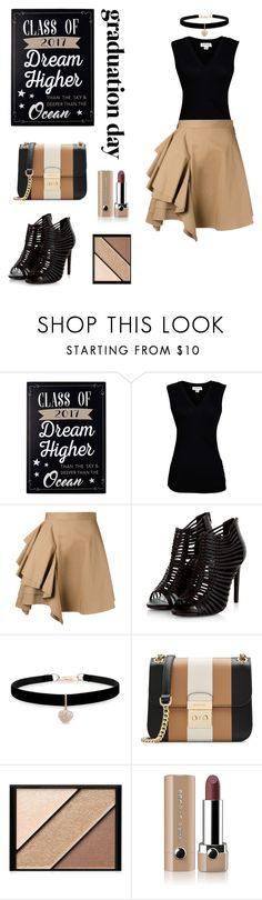 """Untitled #63"" by shelleycox25 ❤ liked on Polyvore featuring New View, Velvet by Graham & Spencer, MSGM, Betsey Johnson, MICHAEL Michael Kors, Elizabeth Arden and Marc Jacobs"