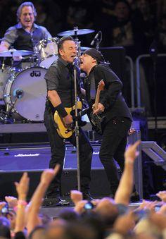 Max Weinberg, Bruce Springsteen and Stevie Van Zandt