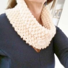 Womens Scarf Ladies Scarf Ladies Knitted Cowl Chunky by OnePurlRow