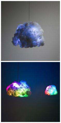 Крошечный светильник-облако, превращается в настоящую стихию, когда звуковой поток сливается со световыми импульсами в такт. Этот инновационный светильник может быть подключен к стандартной розетке и иметь обычную лампочку, а может служить источником вдохновения и извергать гром и молнии. #светильник #светильники #свет #освещение #подсветка #декор #дизайн #интерьер #светодизайн #светодиодыесветильники #светодиодныйсветильник #светодиоды #идеидлядома #лампа #светодиоднаялампа…