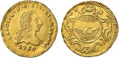 NumisBids: Nomisma Spa Auction 50, Lot 178 : PALERMO Carlo di Borbone (1734-1759) Oncia 1750 – Spahr 72; MIR 566...