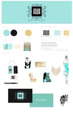 #aqua #rentadress #logo #identity #branding