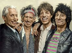 The Rolling Stones  By Sebastian Krüger